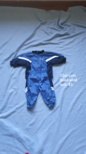 12m CCM lined wind suit