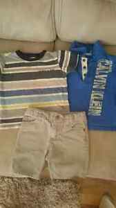 Boys 2T Calvin Klein 3 pc short set London Ontario image 1