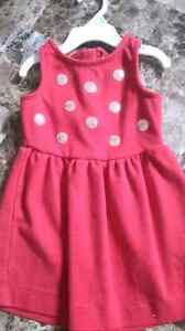 Carter's 2t Christmas dress only worn once London Ontario image 1