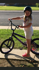 Stolen girls purple bmx! West highlands area!