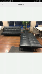 Black couches/sofa beds