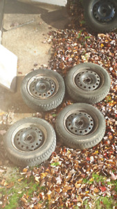 4 steel Rims from Ford Focus