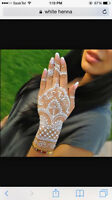 henna/mehandi tattoo/white henna\coloured henna e glitter