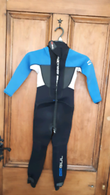 Childs Gul wetsuit age 4 - 6