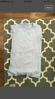 Lululemon size 8 light purple dry fit shirt
