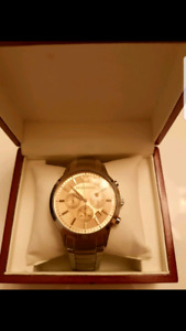 Armani wrist watch, New, chronograph. Armani.AR-2452