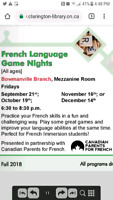 Free French Game Night