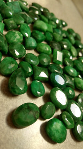 BULK LOT OF 91 CUT EMERALDS!!!