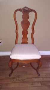 Dining Room Table with 12 Queen Anne Chairs from the Art Shoppe Oakville / Halton Region Toronto (GTA) image 2