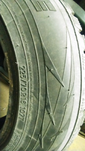 Like new toyo observe g3 ice, snow tires for sale