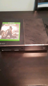 Xbox one with dead rising 3