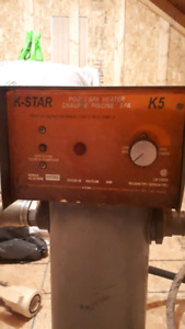 Pool heater and chlorinated for sale. 275.00 obo