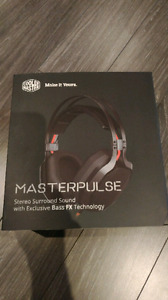 Over Ear Stereo Hadphones - Coolmaster Bass FX