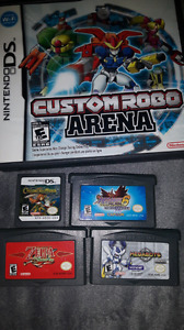 Games for Nintendo Gameboy Advance and DS/Dsi