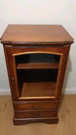 HiFi cabinet with drawers cherry by John E. Coyle ltd
