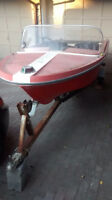 14 ft boat and trailer