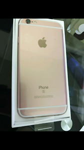 Rose gold iPhone 6s Rogers