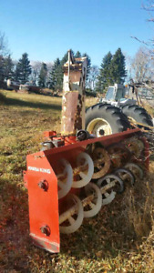 8 foot Farm King snow blower