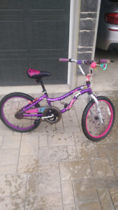 Girls bike (monster high decals and colours)