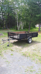 Homemade 5 x 8 utility trailer for sale