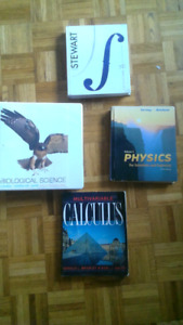Textbooks for Cegep and University