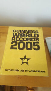 Records Guinness 2005