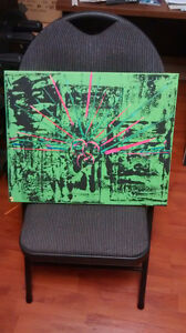 Original Canvas Painting by local artist Kendra Miller