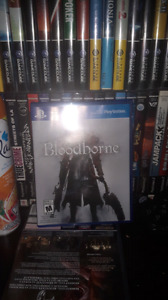 Bloodborne for ps4 up for trade.