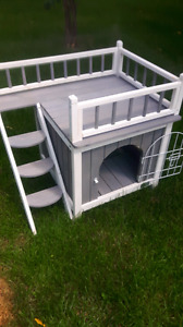 Cabane cage chien chat lapin cochon dinde chinchilla