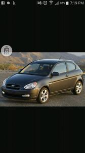 2007 to 2011 hyundai accent hatchback
