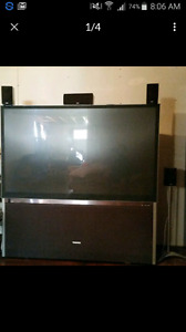 Toshiba 65 inch projection tv