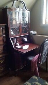 antique ish secretarial desk