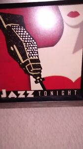 Framed Wall Jazz Picture-Brand New-Reduced!