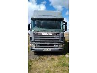 Scania horsebox