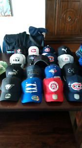 17  hats never worn! Price tags still on them!