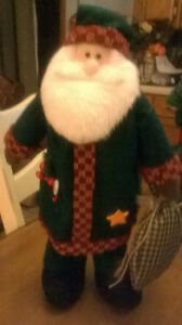 Santa Stands about 16 Inches Tall