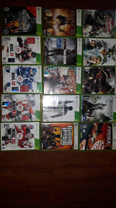 Xbox 360 games..offers on bundle or trades