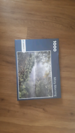 jigsaw puzzle Misty morning 1000 pieces