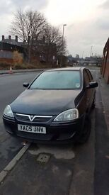 2005 Vauxhall Corsa 1.2 Black 5 Door For Sale (FULL CAR OR BREAKING NO ENGINE)