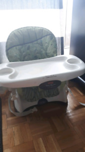 Space saver highchair