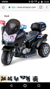 Kid traxx rescue motorcycle
