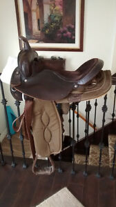 Cordura Western Saddle