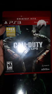 Call of duty black ops ps3 brand new