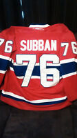 Chandail de Hockey RbK grandeur 54 du Canadien (P.K. Subban 76)