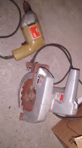 Circular Saw and Drill for sale