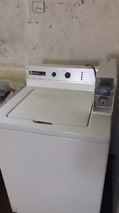 MAYTAG COMMERCIAL COIN  WASHER $150