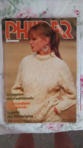 Vintage knitting magazines bundle/ensemble magazines de tricot West Island Greater Montréal image 4