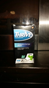 Thrive 2mg coolmint gum 108 ct.