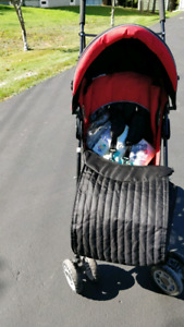 Avalon Stroller with weather protector
