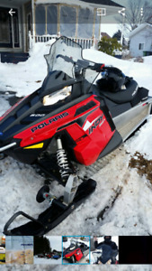 Female owned and driven polaris snowmobile